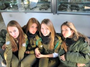 Israel Army Women Soldiers