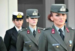 greek army women officers