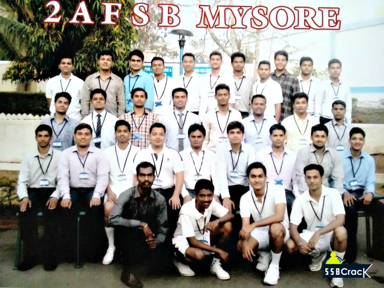 Piyush Varshney Recommended from 2 AFSB Mysore