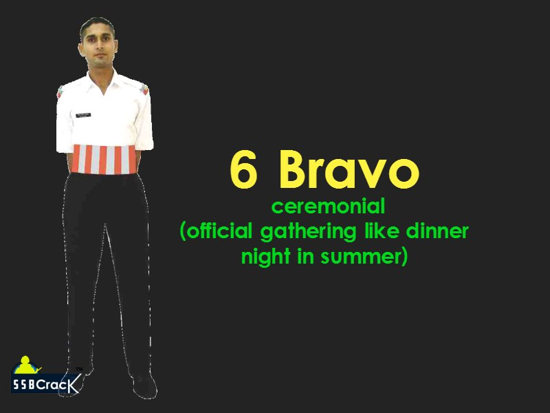 6 bravo cadet uniform ima ota