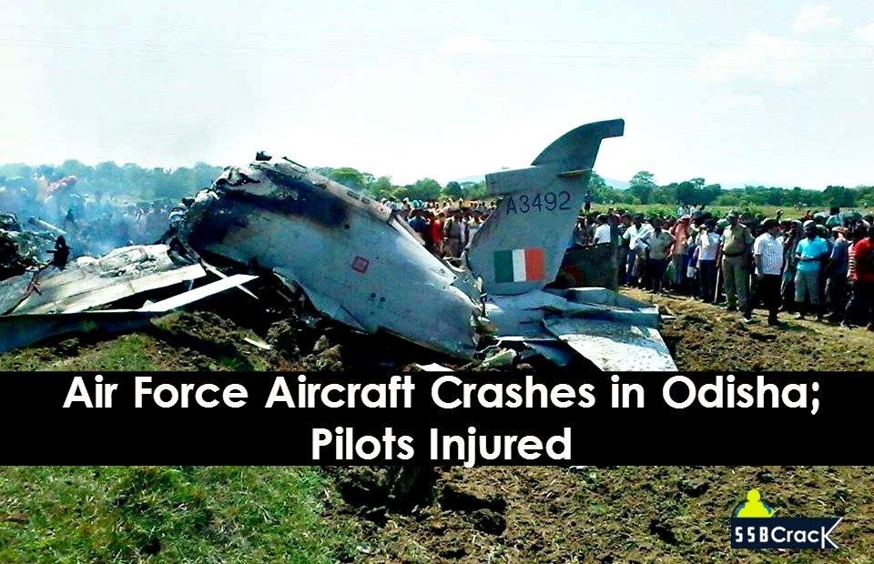 Air Force Aircraft Crashes in Odisha