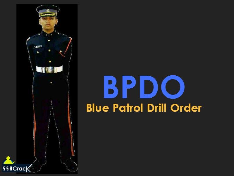 BPDO Blue Patrol Drill Order