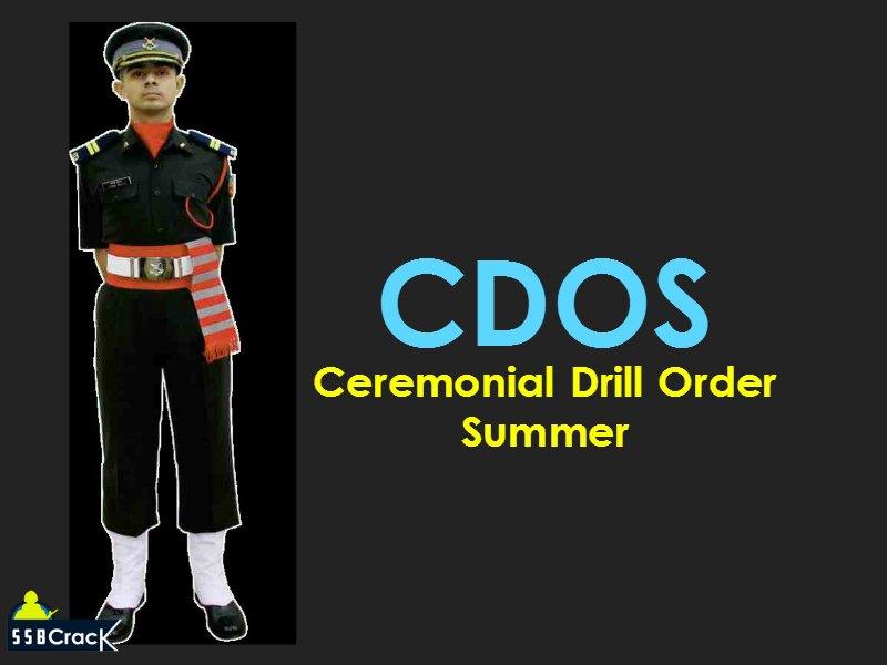 CDOS Ceremonial Drill Order Summer