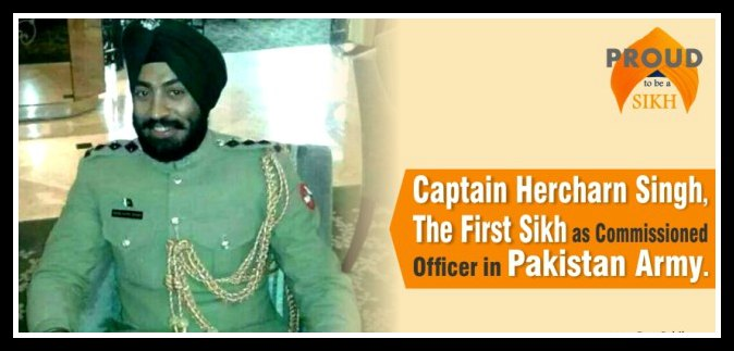 Captain-Hercharn-Singhthe-first-Sikh-as-Commissioned-Officer-in-Pakistan-Army