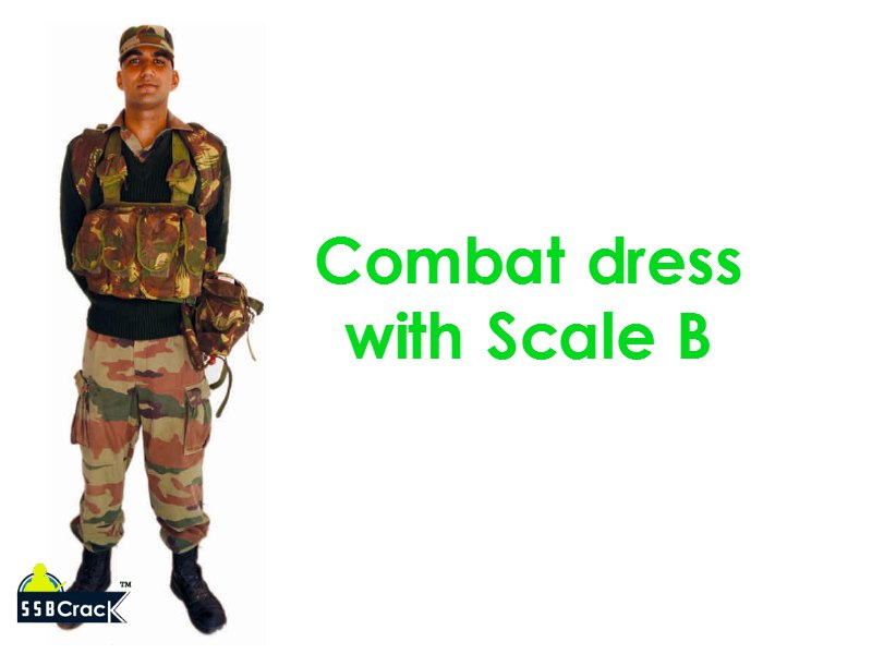 Combat dress  with Scale B