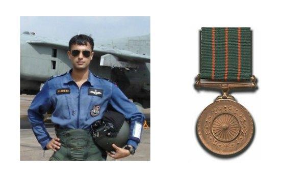 Flight Lieutenant Manish Arora