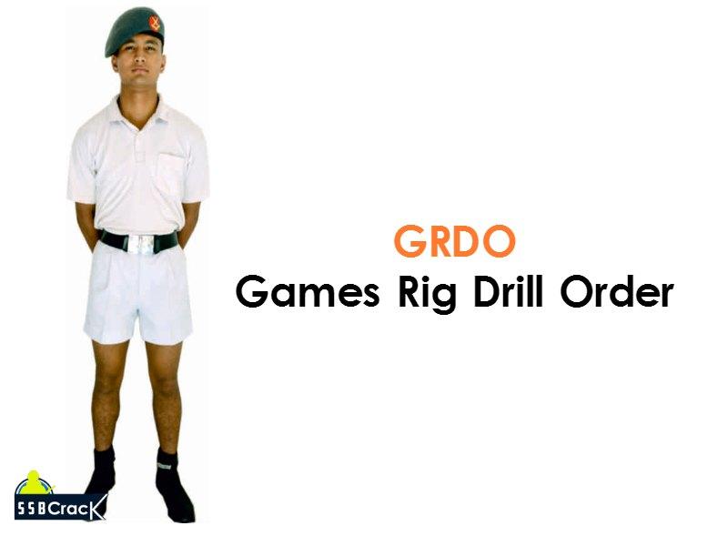 Games rig drill order cadets dress at ima ota