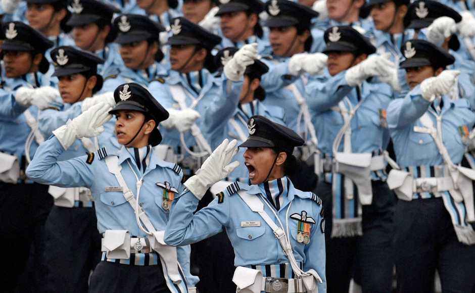 Indian air force all women contigent