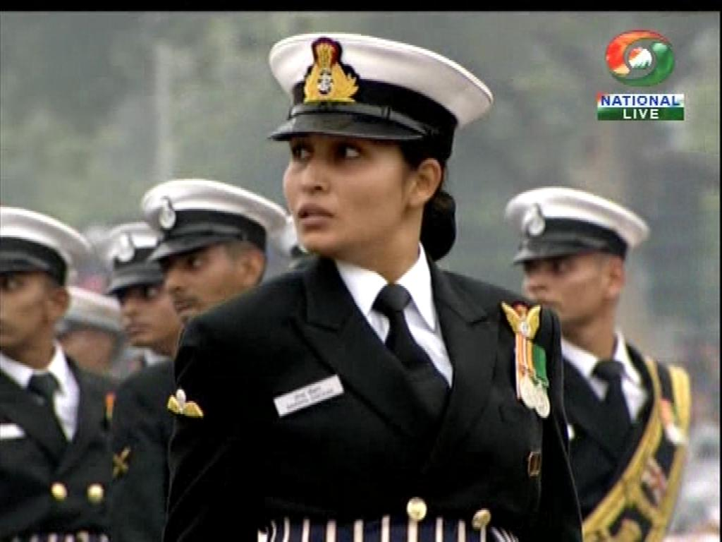 Lieutenant Commander Sandhya Chauhan