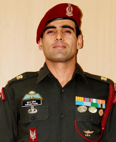 Major Surendra Poonia