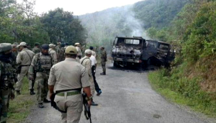 indian army search and destroy manipur militant