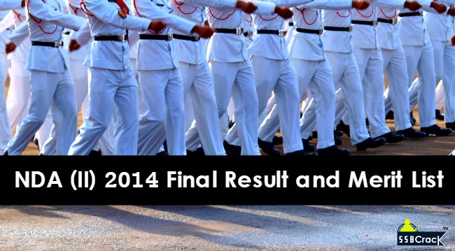nda 2 2015 final result and merit list