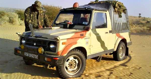 Maruti-Suzuki-Gypsy- Indian-Army