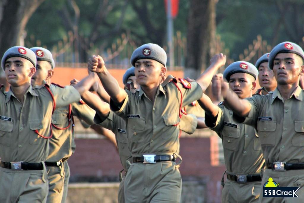 NDA Cadet Drill