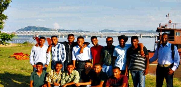 OTA cadets in HIKE