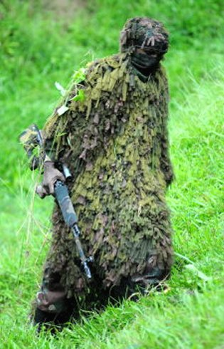 Indian Army Sniper In Suit