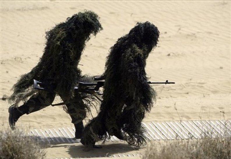 Indian Sniper Team