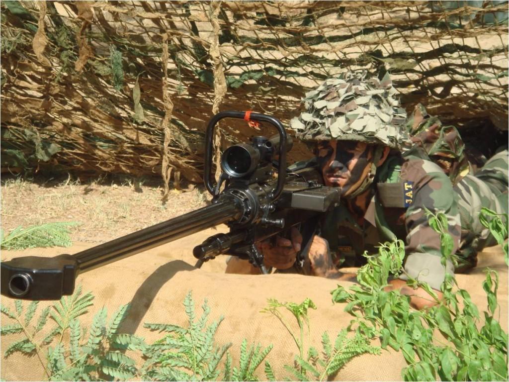 Indian Soldier Sniper