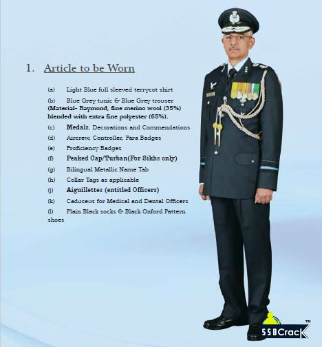 Dress No 2A Summer Ceremonial (For Air Officers, AAs, DAs, SOs)