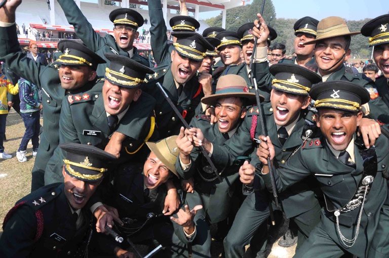 indian military academy cadets 1