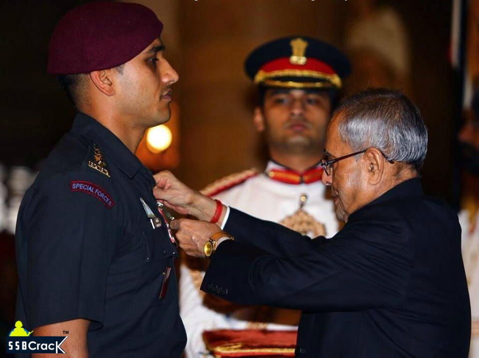 Meet Captain Mahabir Singh Shaurya Chakra 9 PARA (Special Forces)