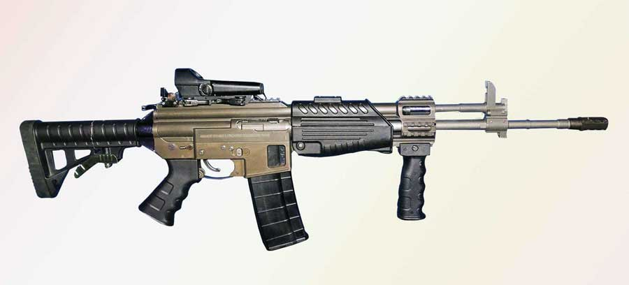 Multi calibre individual weapon system (MCIWS)