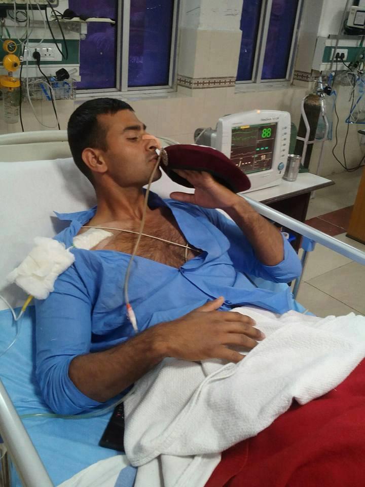 Meet Garud Commando Sailesh Gaur, Took 6 Bullets Kept On Fighting ...