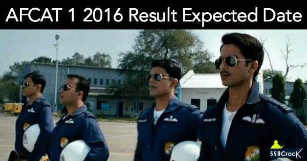 AFCAT 1 2016 Result Expected Date