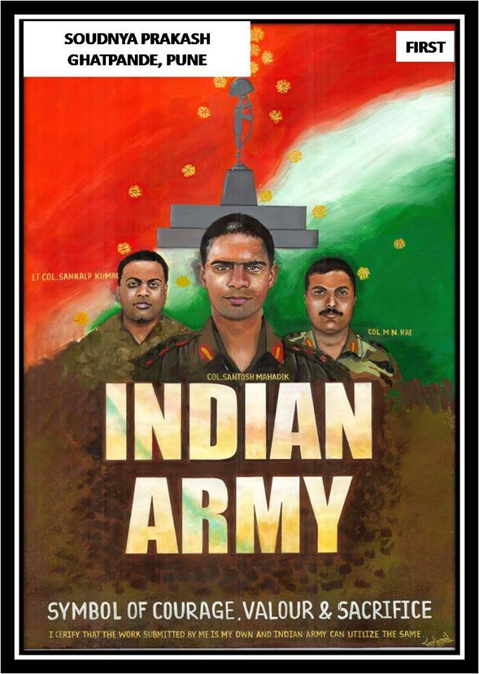 Indian army paintings