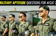 _21 MILITARY APTITUDE QUESTIONS FOR AFCAT 2018