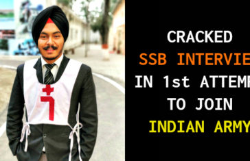 CRACKED SSB INTERVIEW IN 1st ATTEMPT TO JOIN INDIAN ARMY